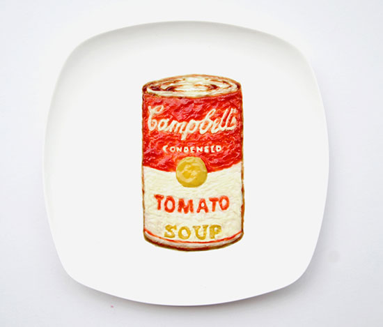 Campbell's Soup Can by Red Hong Yi