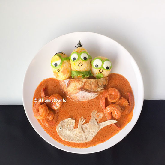 Minions by Little Miss Bento