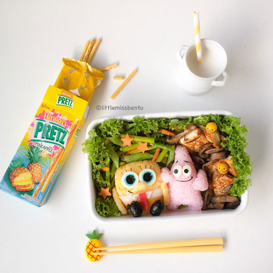 Spongebob & Patrick by Little Miss Bento