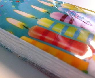 Druckraster Taschentuchverpackung