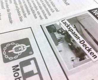 Druckraster Zeitung