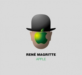 René Magritte – Apple